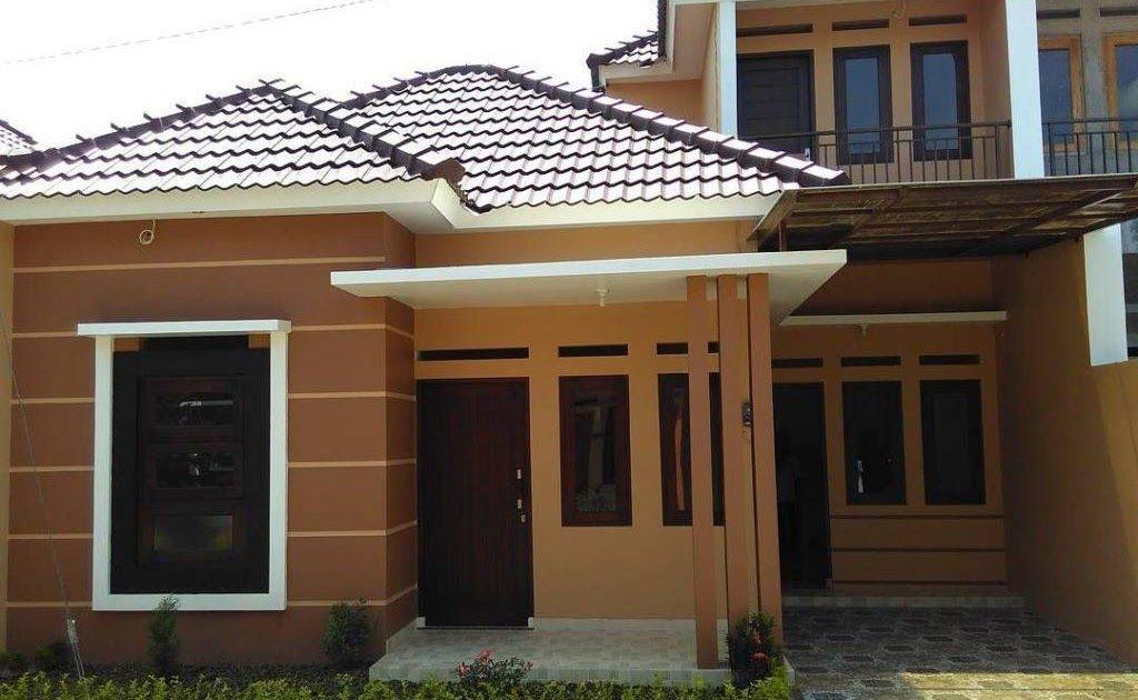 Cat Luar Rumah Minimalis Warna Coklat Di 2020 Rumah Minimalis