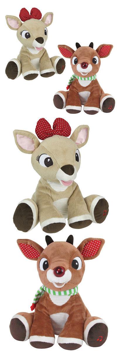 Stuffed Animals Beanbag Plush 51030: New (Set) Christmas Rudolph And ...