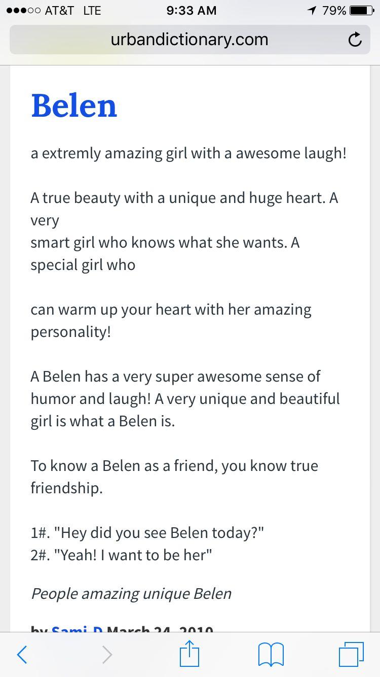 Belén name definition   True beauty, Smart girls, Special girl