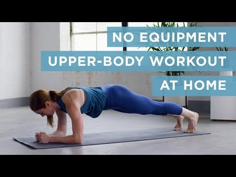 this 6minute noequipment upper body workout will light
