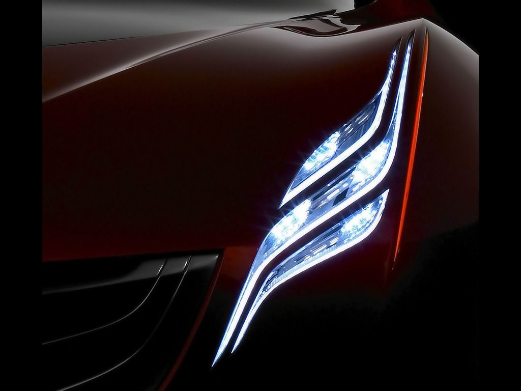 2007 Mazda Ryuga Concept - Headlight | headlights_design | Pinterest ...