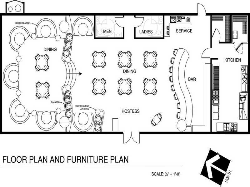 Restaurant floor plans imagery above is segment of for Coffee shop floor plan with dimensions