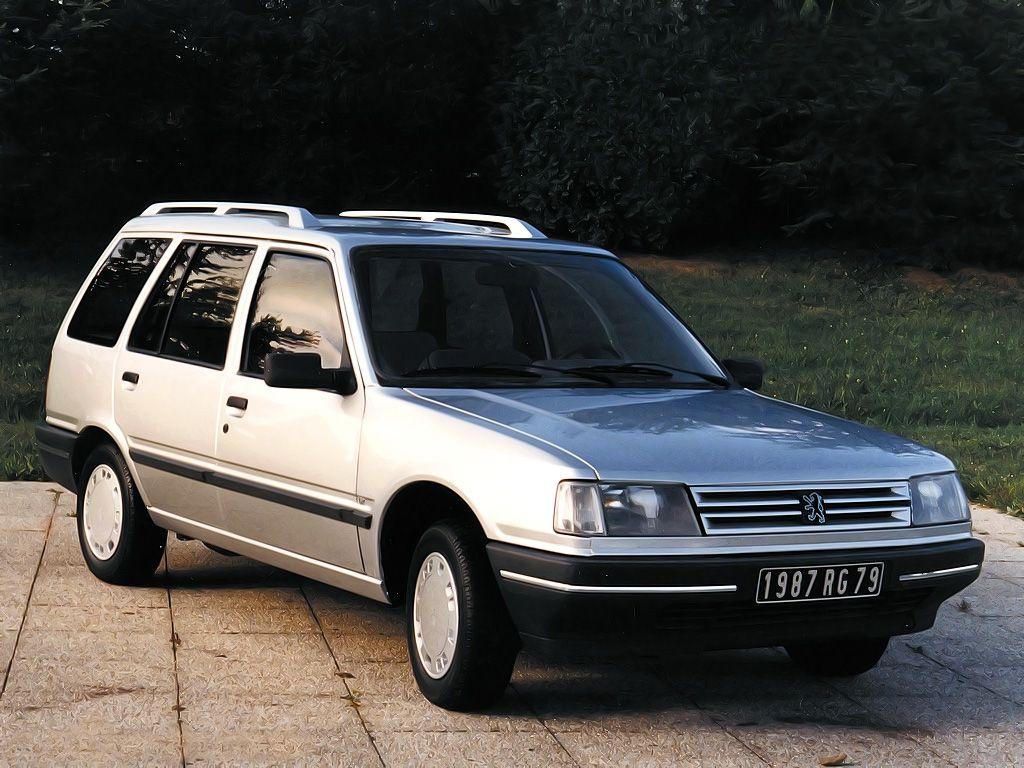 Peugeot 309 Break Prototype By Heuliez 1988 Voertuigen Auto S