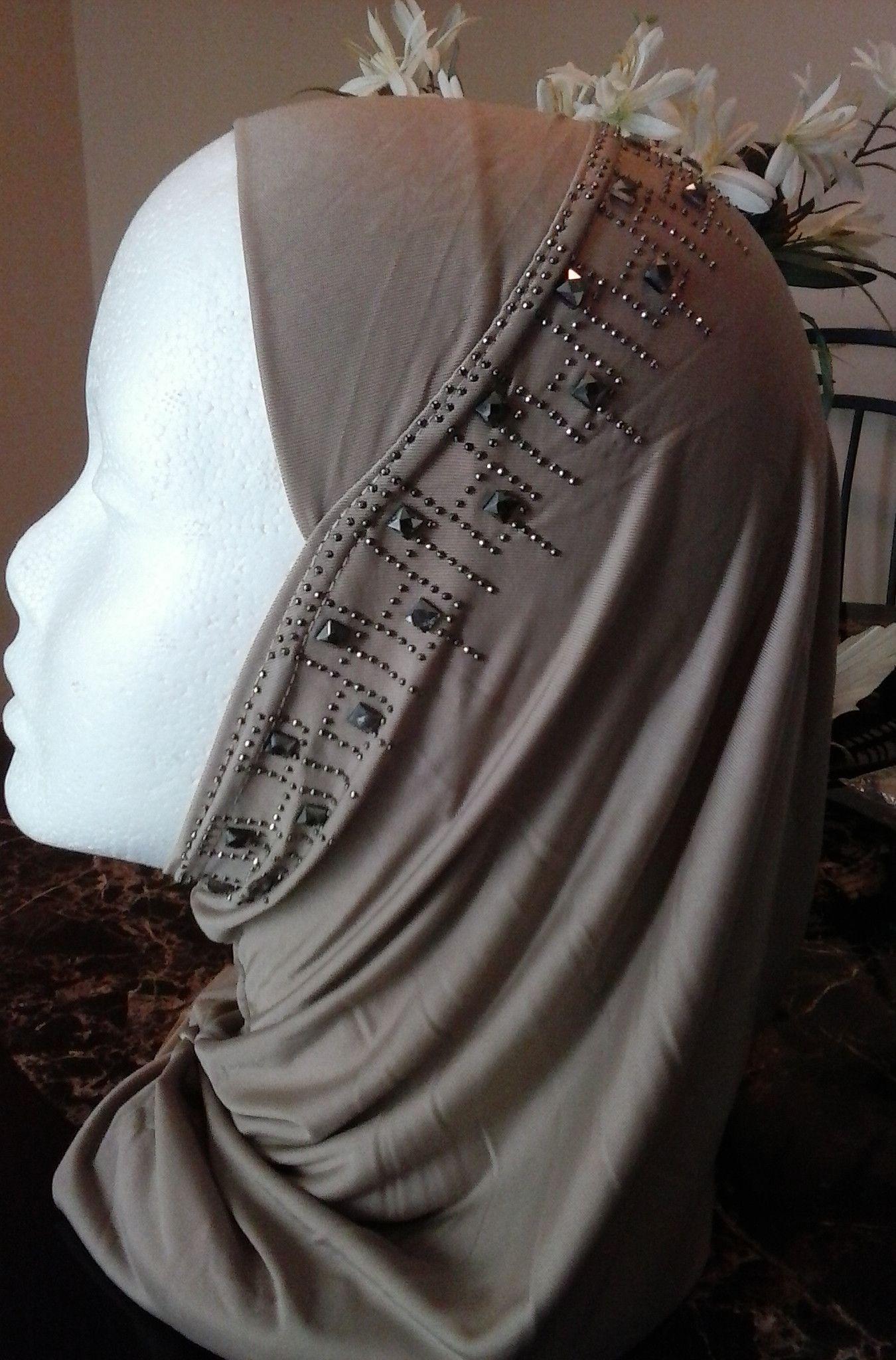 1 Piece Beaded Hijab