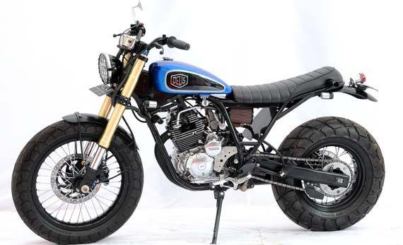 Modifikasi Yamaha Scorpio Scrambler
