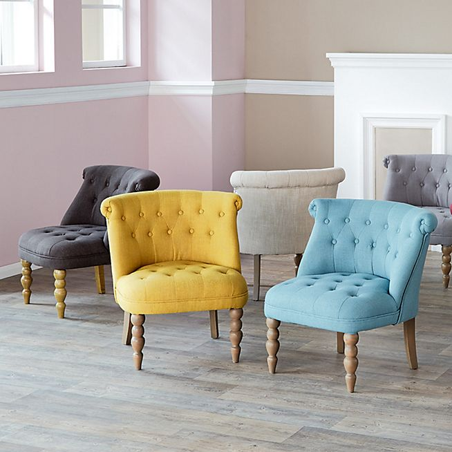 Chanteloup Fauteuil Cosy Style Crapaud Jaune Salons And Kidsroom - Fauteuil crapaud jaune