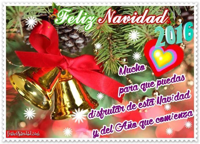 Tarjetas navide as 2016 con campanas doradas para - Dibujos tarjetas navidenas ...