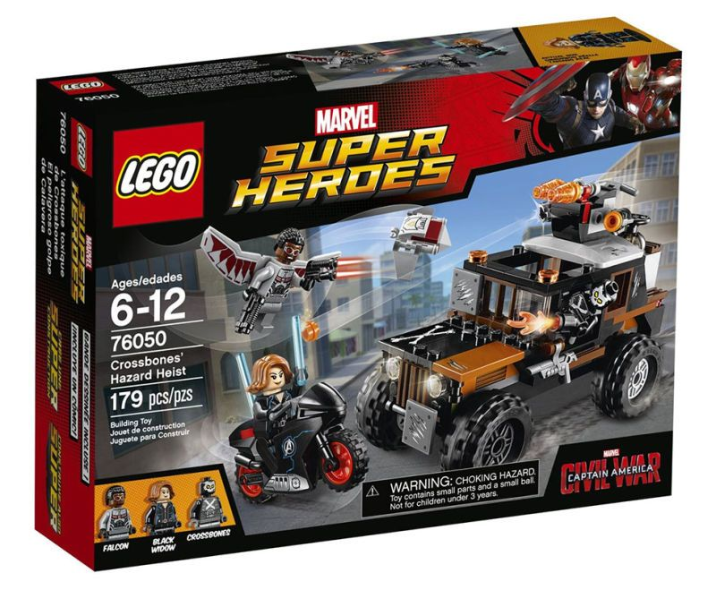 Toy Time Plays With Captain America: Civil War LEGO Sets   Captain ...