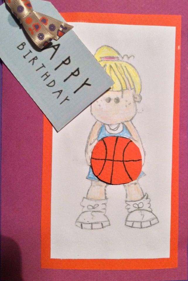Carte D Anniversaire Fille Baskets Avec Images Carte