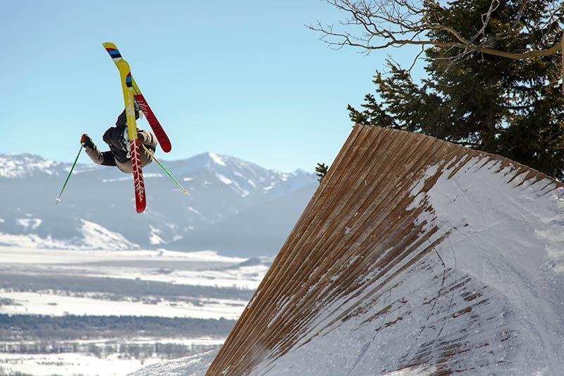 Terrain Parks Halfpipe Jackson Hole Skiing Park Resort