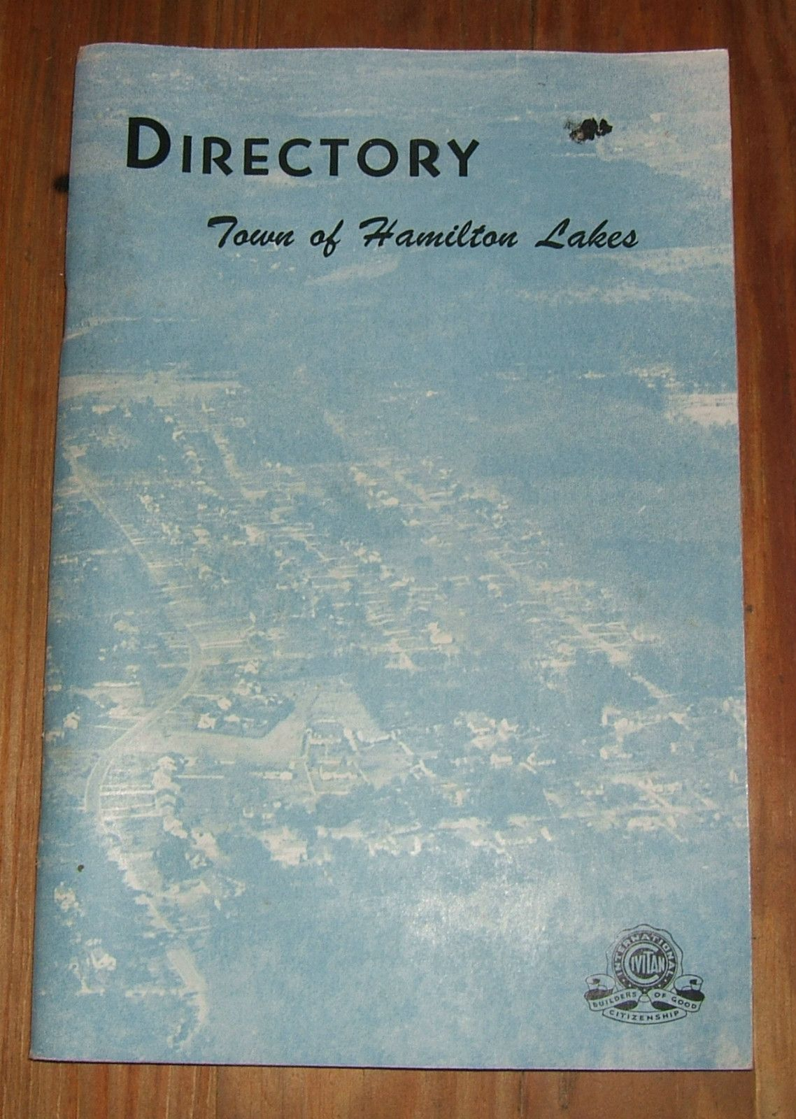 1953 directory of the TOWN OF HAMILTON LAKES Greensboro, NC North Carolina