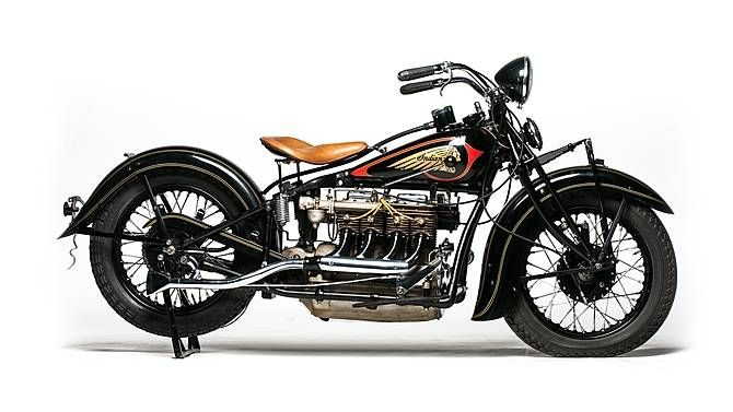 1935 Indian Four Cylinder Offered For Auction Indian Motorcycle Indian Motorbike Vintage Indian Motorcycles