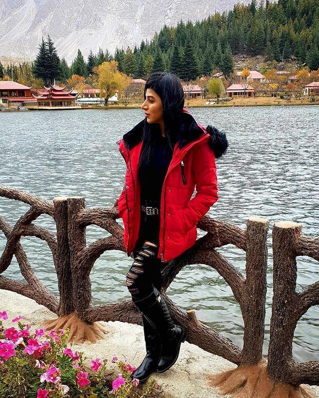 Nafias adventure to Skardu 🇵🇰💚⛰ -Follow now @travelgirls