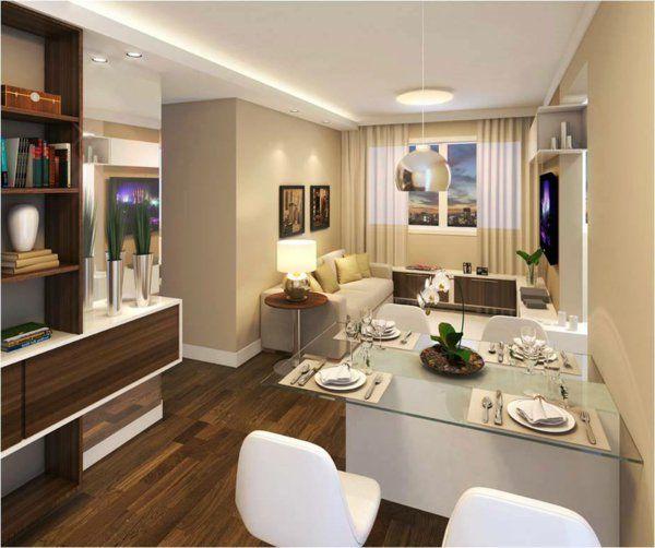 60 ides pour un amnagement petit espace - Idee Amenagement Petit Salon Salle A Manger
