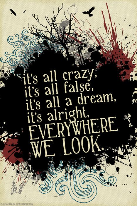 """allah, allah, allah"" by mewithoutyou from 'it's all crazy! it's all false! it's all a dream! it's alright!..."