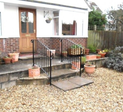 Best R 63 The Handrail People Garden Steps Patio Outdoor 400 x 300