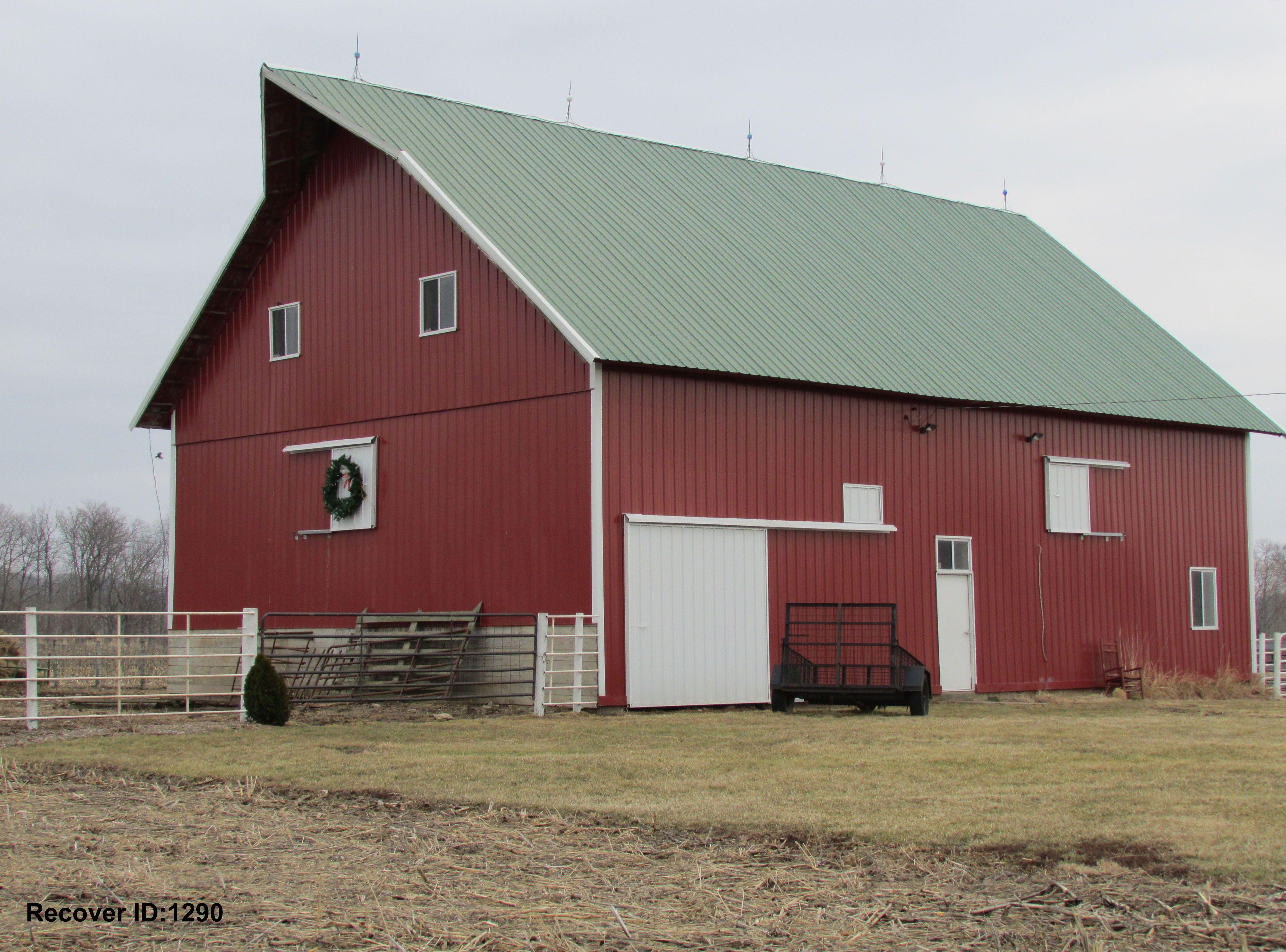 Barn In Iowa Barndominium Floor Plans Barn Roof Metal Building Homes