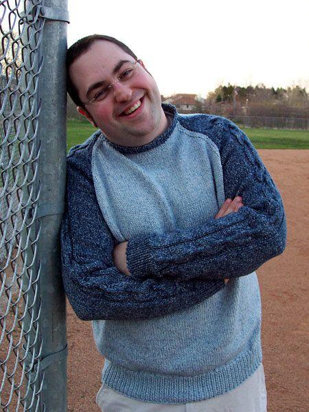 Free Knitting Pattern Mens Sweaters Baseball Sweater Knitting
