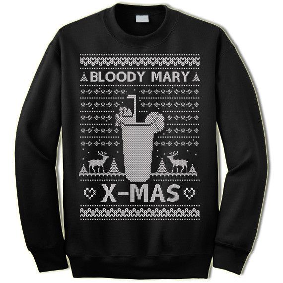 Bloody Mary X-Mas Ugly Christmas Sweater Bloody mary, Ugliest