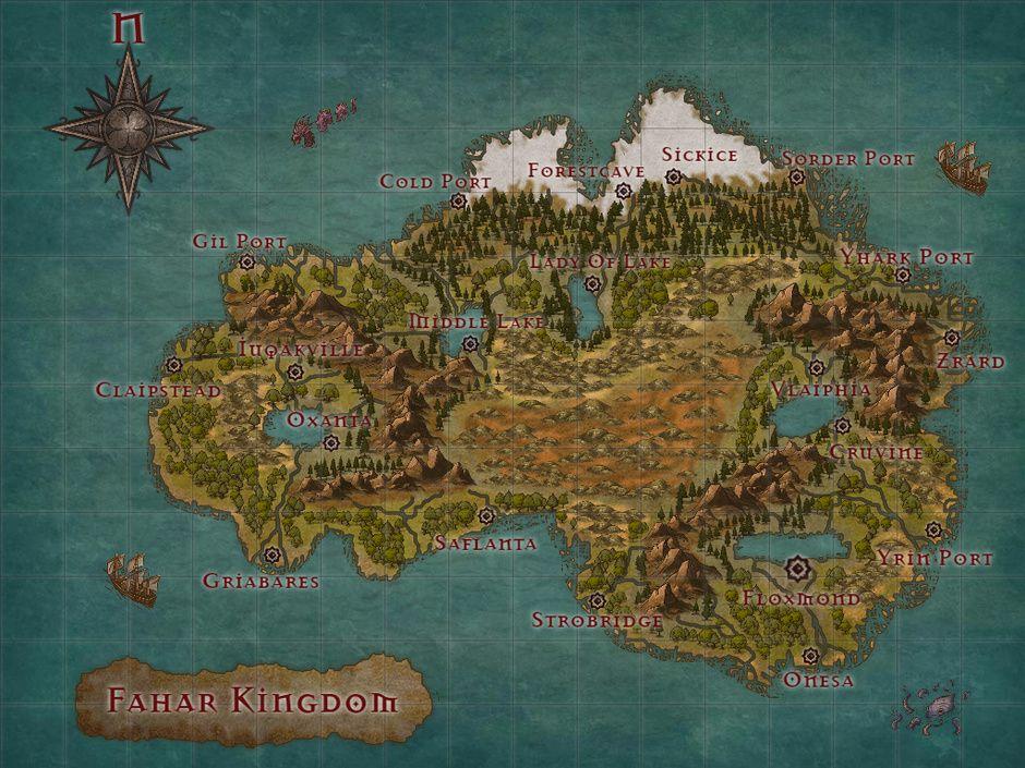 Inkarnate World Map.Inkarnate Map 2 By Alessandro Favarotto Fantasy 2d Cgsociety