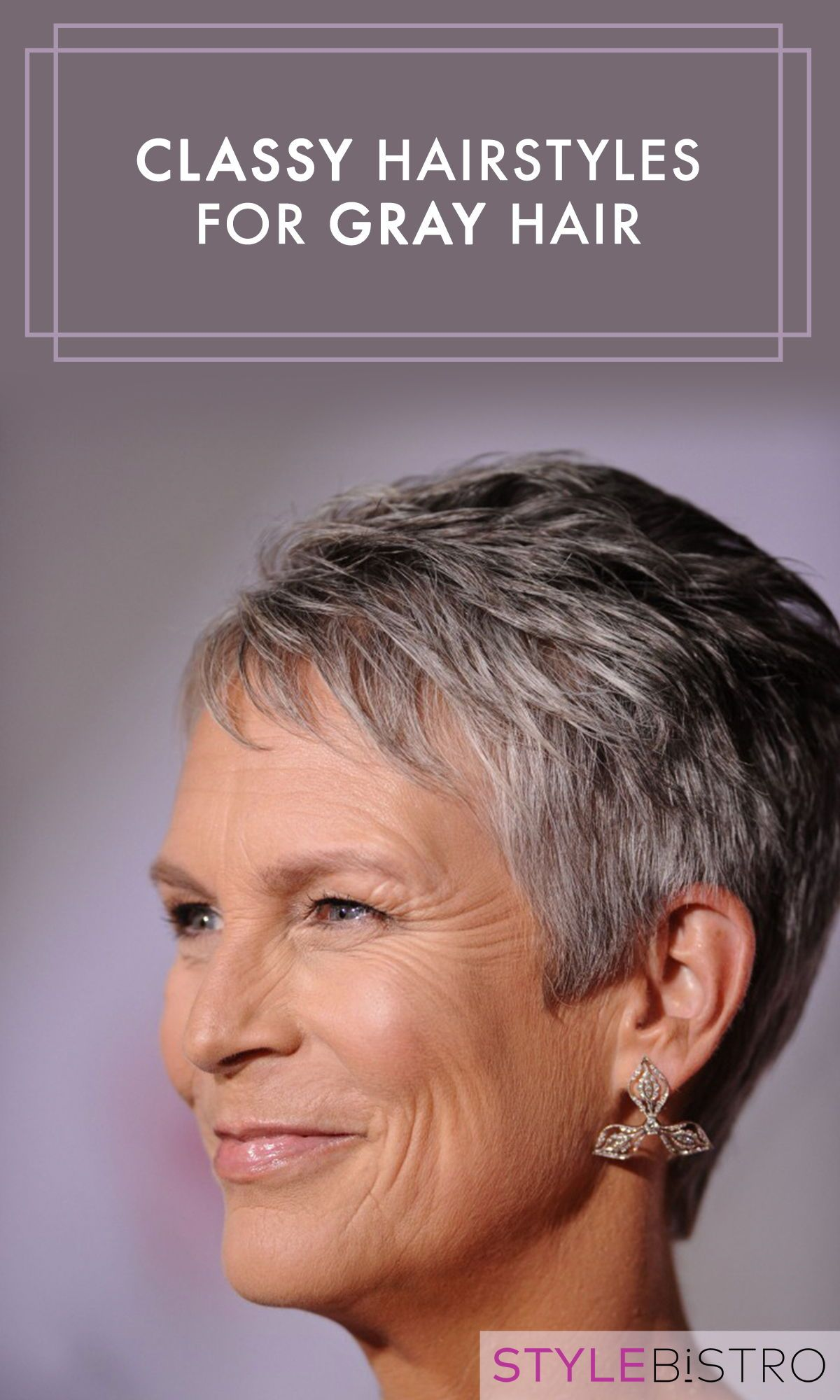 Classy Hairstyles For Gray Hair Classy Hairstyles Short Hair Styles Hair Styles