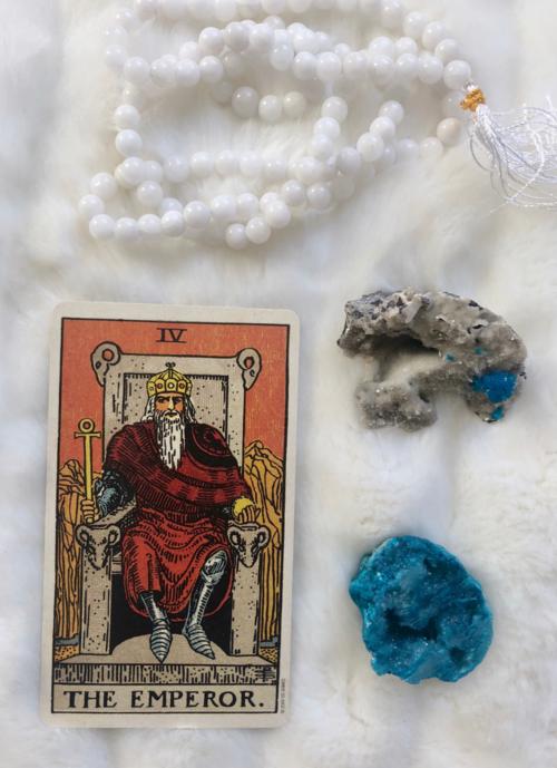 The Emperor: Predictive Tarot Card Meanings | Spiritual Group Board