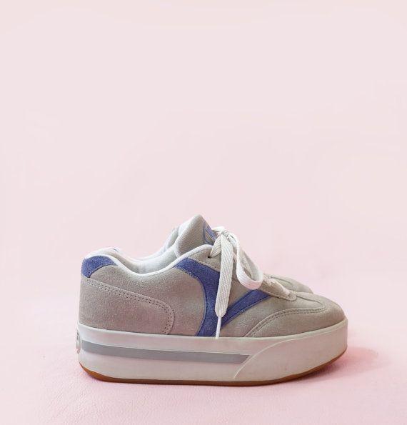 4decb2fdb5 Vans 90s Chunky Platform Suede Sneakers Original by ACTUALTEEN