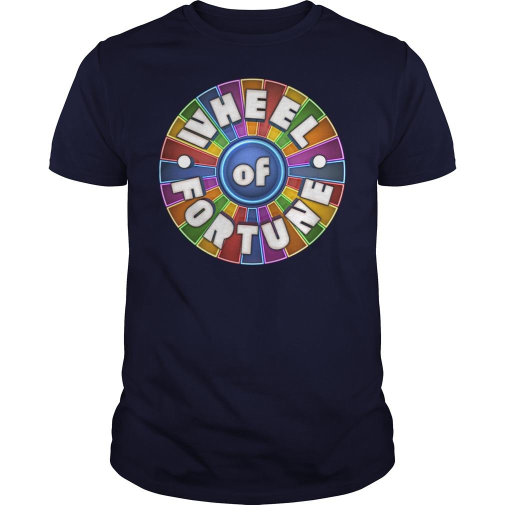 Wheel Of Fortune Logo Great TShirt, Hoodie, Sweatshirt