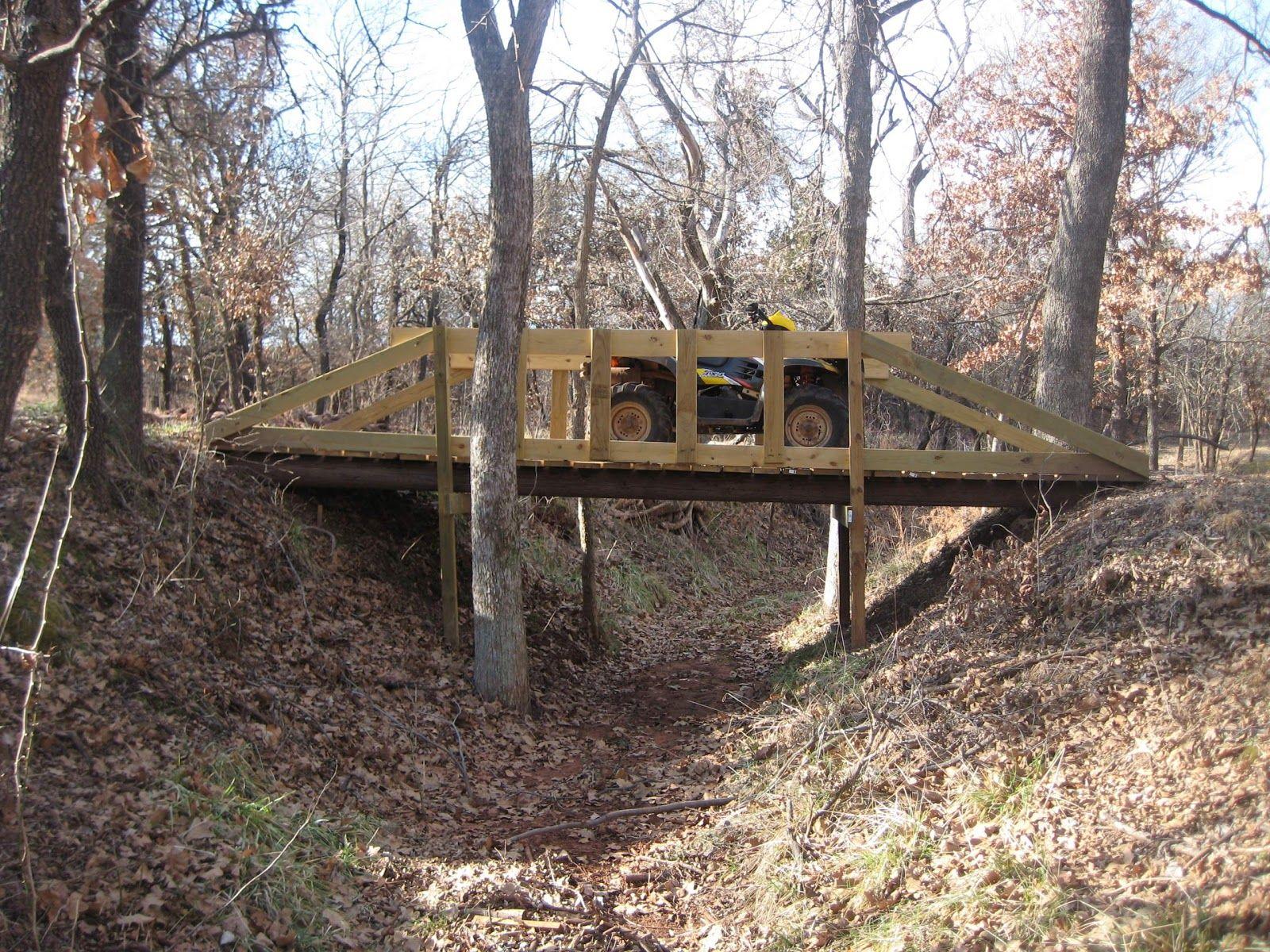 building small bridge over creek bridges pinterest garden bridge bridge and garden. Black Bedroom Furniture Sets. Home Design Ideas