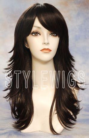 Double Side Sweep Bangs Hair Styles Long Hair Styles Long Layered Hair