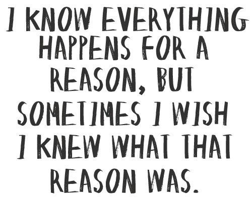 What is that reason?