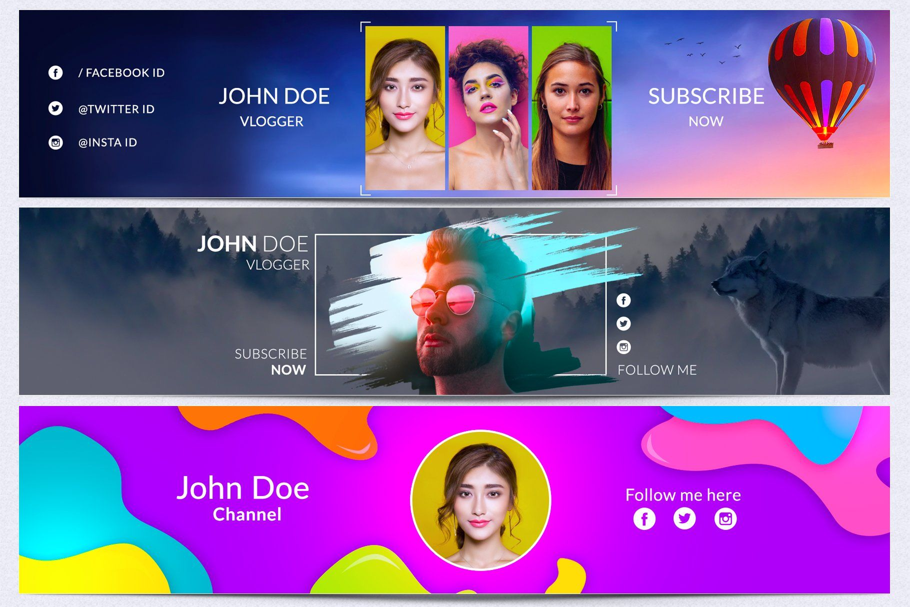 Offer Price Just 10 Youtube Channel Art Bundle Promote Your Youtube Channel With This Cool Looking Covers Eas In 2020 Youtube Channel Art Channel Art Youtube Banners