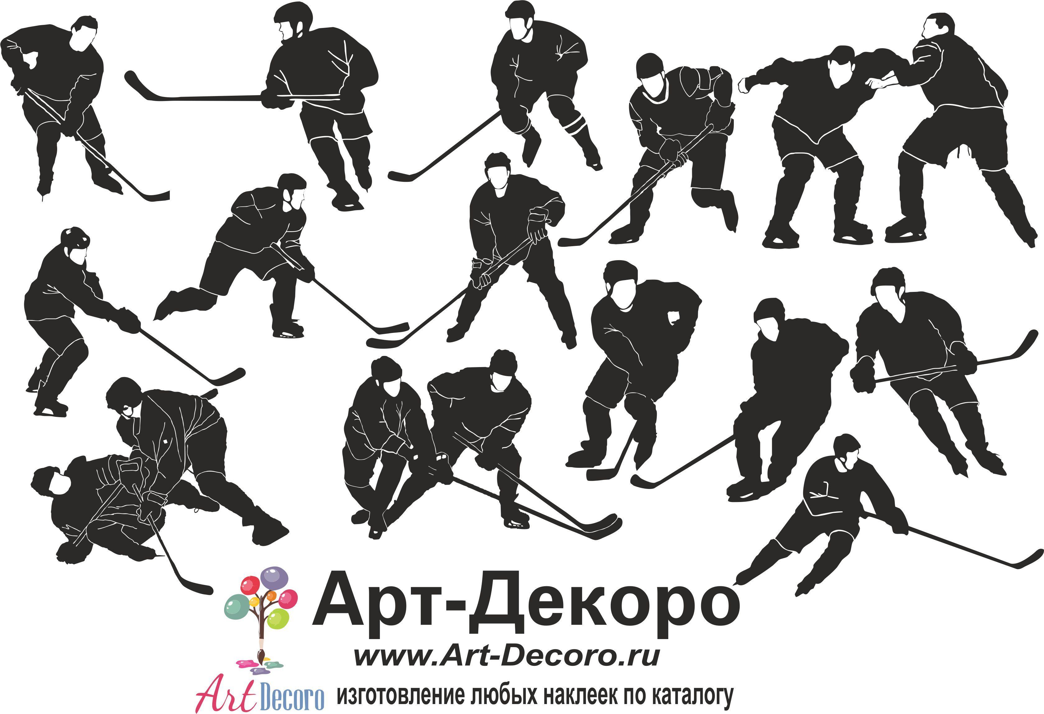 фото Российский хоккей, виниловый стикер в магазине Арт ...