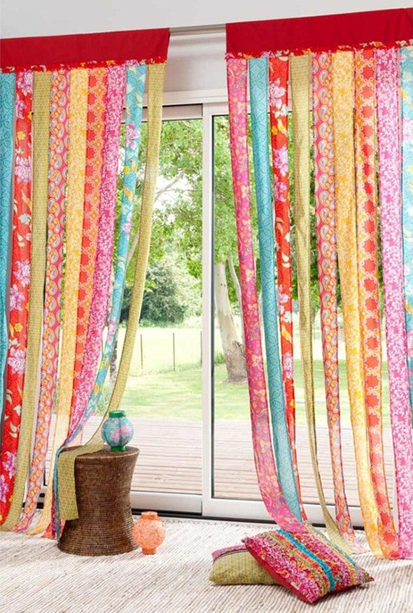 living for co color khari curtain ideas room colorful curtains