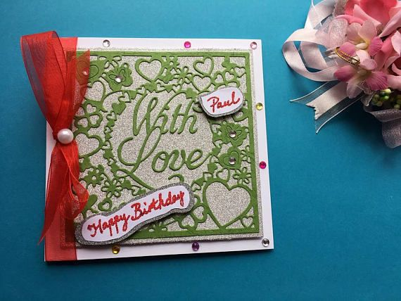 Pin By Happy Crafting Uk Die Cutters Personalised Cards On
