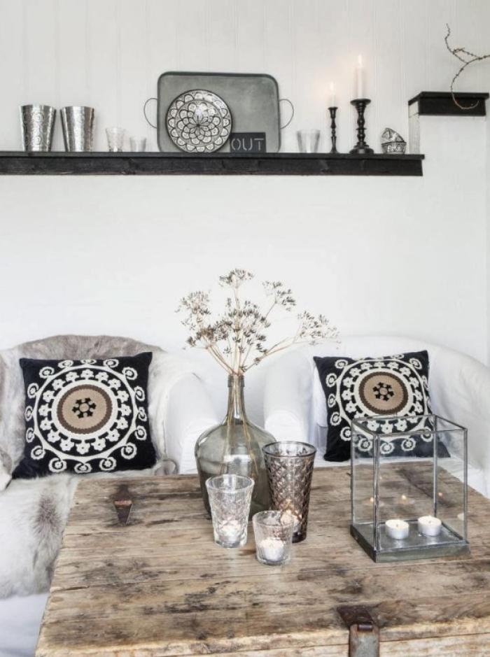 moderne woonkamer met marokkaanse accessoires - home'15, Deco ideeën
