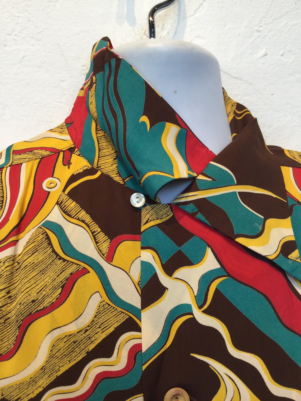 Hawaiian shirts reproduction vintage Men's Vintage