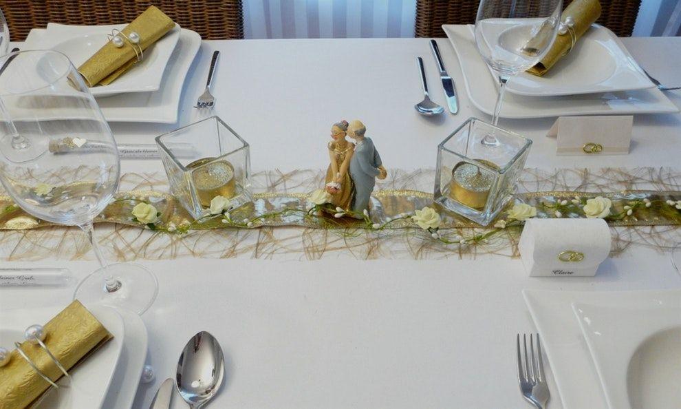 35 Frisch Tischdeko Goldene Hochzeit Tischdekoration Deko Pinterest