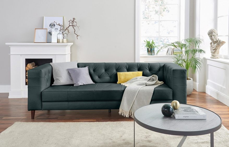3 Sitzer Sofa Mit Ottomane
