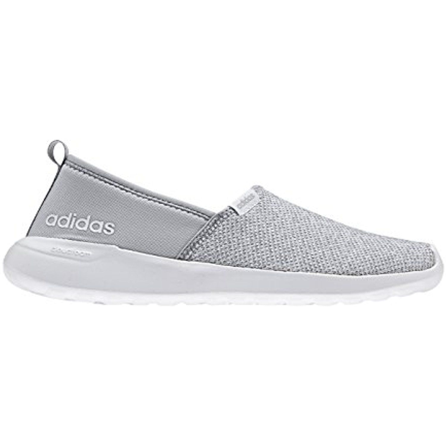 Adidas Women Cloudfoam Lite Racer Slip On Shoes ** Continue to the ...