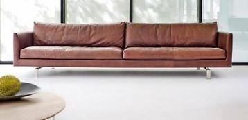 Leolux Leren Bank.Showroommodel Pode Leolux Gelderland Designonstock Montis