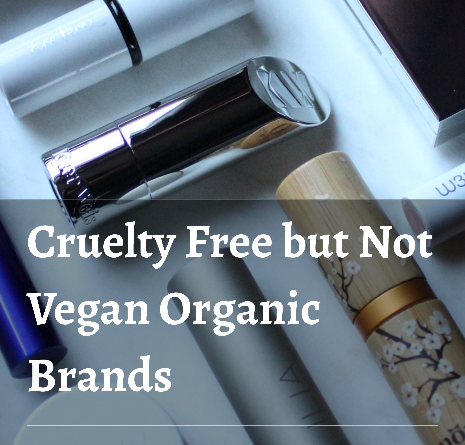 My List of Cruelty Free and Natural Makeup Organic