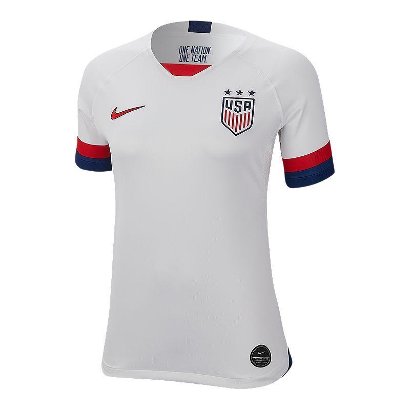 USA Women's Nike 2019 Home Jersey | Nike women, Sport