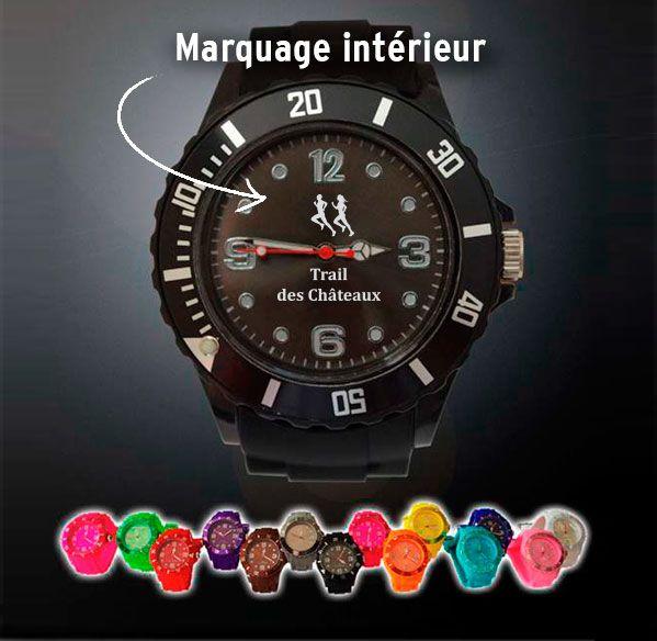 Exceptionnel Soyez toujours à l'heure avec cette montre personnalisable  XS27