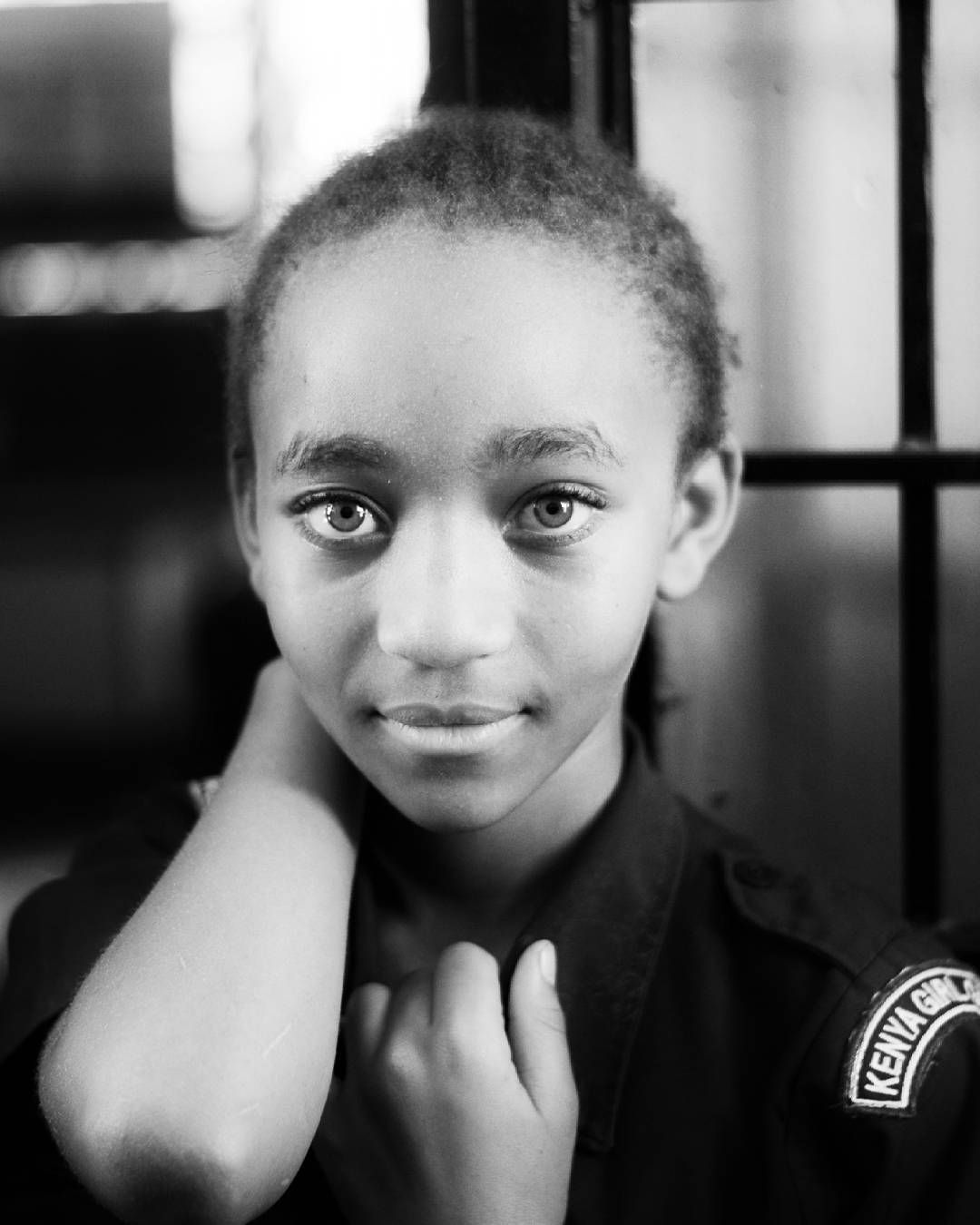 Rose Class seven student at Kenyatta university primary