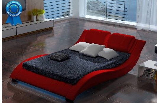 Lit design Sabatino rouge chambre Pinterest Light design and