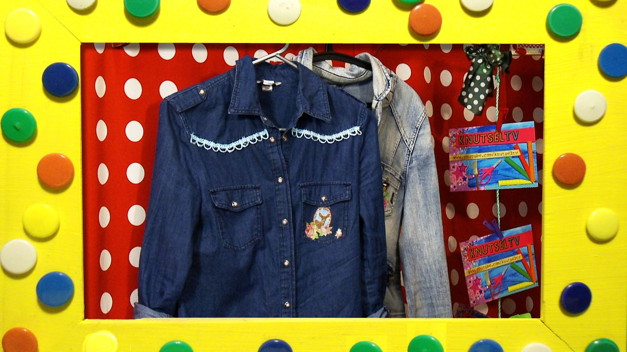 Je eigen blouse ontwerpen kan heel gemakkelijk. Je hebt een blousje of top nodig. En dan kan je gaan versieren!