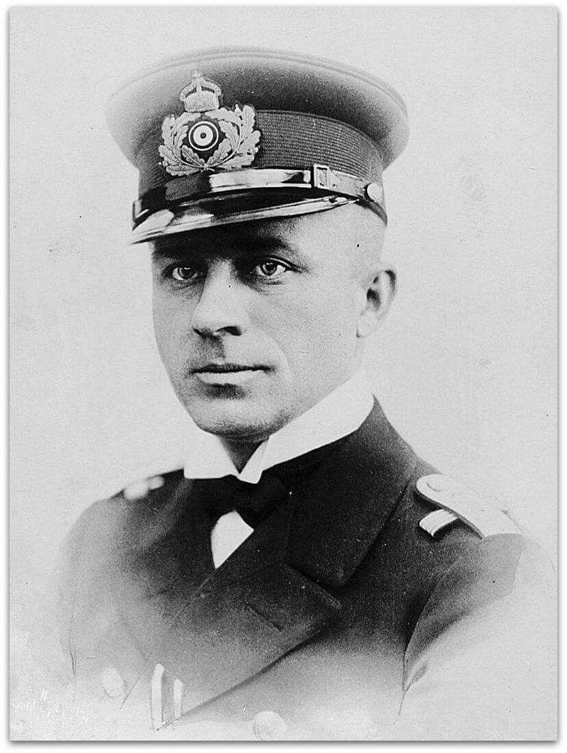 Kapitanleutnant Lothar Von Arnauld De La Periere Ww1 History History War World War I