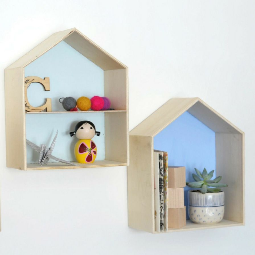 Fun365 Craft Party Wedding Classroom Ideas Inspiration In 2020 House Shelves Wood Shadow Box Shadow Box Shelves