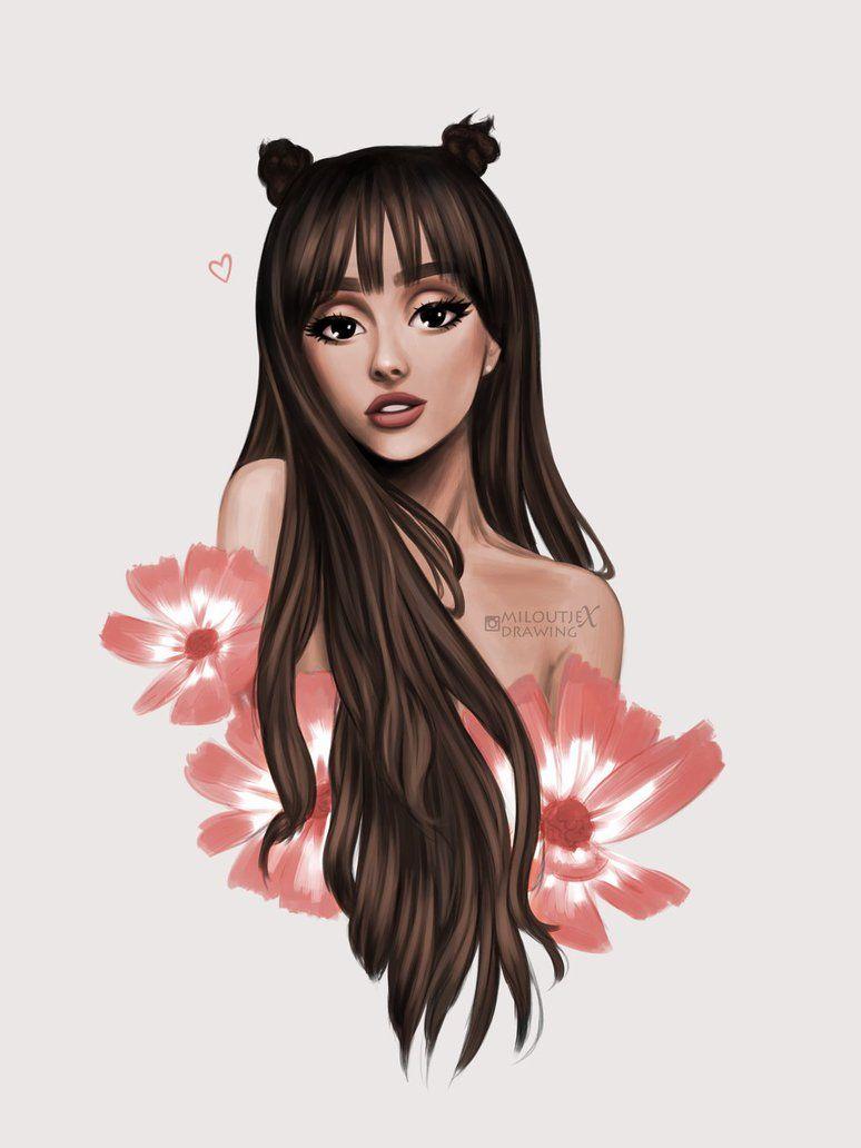 Ariana grande everyday by miloutjexdrawing deviantart com on deviantart